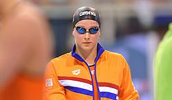04-04-2015 NED: Swim Cup, Eindhoven<br /> Wendy van der Zanden, 100m freestyle<br /> Photo by Ronald Hoogendoorn / Sportida