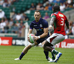 May 26, 2019 - Twickenham, England, United Kingdom - Nyle Godsmark of Scotland.during The HSBC World Rugby Sevens Series 2019 London 7s Challenge Trophy Quarter Final Match 28 between Kenya and Scotland at Twickenham on 26 May 2019. (Credit Image: © Action Foto Sport/NurPhoto via ZUMA Press)