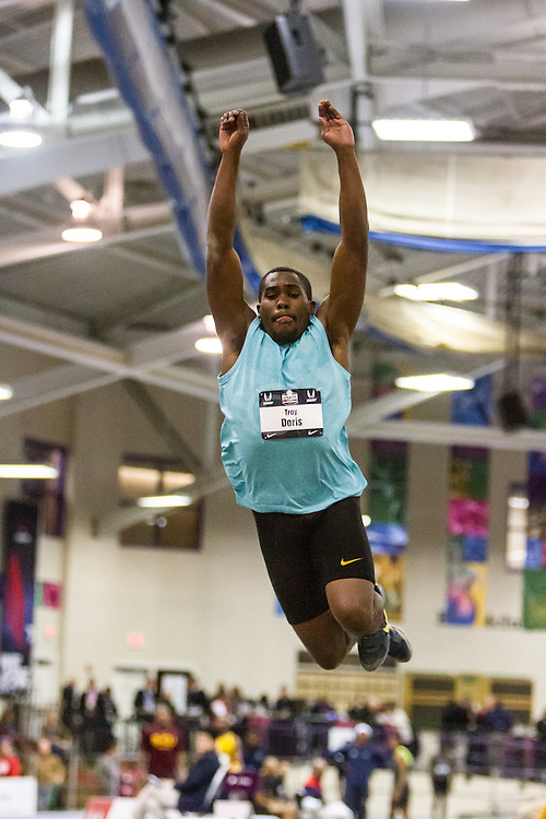 USATF Indoor Track & Field Championships: mens triple jump, Troy Doris