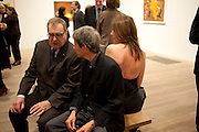 DANIEL; LELOLG; EMILIO FERNANDEZ MIRO; FRANCISCA PUIG, Joan Mir—: The Ladder of Escape. Tate Modern. London. 12 April 2011. -DO NOT ARCHIVE-© Copyright Photograph by Dafydd Jones. 248 Clapham Rd. London SW9 0PZ. Tel 0207 820 0771. www.dafjones.com.<br /> DANIEL; LELOLG; EMILIO FERNANDEZ MIRO; FRANCISCA PUIG, Joan Miró: The Ladder of Escape. Tate Modern. London. 12 April 2011. -DO NOT ARCHIVE-© Copyright Photograph by Dafydd Jones. 248 Clapham Rd. London SW9 0PZ. Tel 0207 820 0771. www.dafjones.com.
