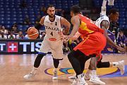 Pietro Aradori<br /> Nazionale Italiana Maschile Senior<br /> Eurobasket 2017 - Group Phase<br /> Italy Italia Germany Germania<br /> FIP 2017<br /> Tel Aviv, 05/09/2017<br /> Foto Ciamillo - Castoria/ Ivan Mancini