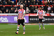 Nicky Law (8) of Exeter City during the EFL Sky Bet League 2 match between Exeter City and Cambridge United at St James' Park, Exeter, England on 11 January 2020.
