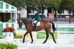 Kate Kerr Horan, (IRL), Arlande - Individual Test Grade II Para Dressage - Alltech FEI World Equestrian Games™ 2014 - Normandy, France.<br /> © Hippo Foto Team - Jon Stroud <br /> 25/06/14
