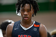 HAMPTON, VA May 26, 2018 - Nike EYBL Session 4. Scott Barnes 2020 #4 of Nike Team Florida walks to the bench. <br /> NOTE TO USER: Mandatory Copyright Notice: Photo by Jon Lopez / Nike