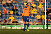 Will Huffer (13) of Leeds United during the Pre-Season Friendly match between Oxford United and Leeds United at the Kassam Stadium, Oxford, England on 24 July 2018. Picture by Graham Hunt.