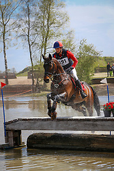 De Cleene Wouter, BEL, Alaric de Lauzelle<br /> Nationale LRV-Eventingkampioenschap Ponies Minderhout 2017<br /> © Hippo Foto - Kris Van Steen<br /> 30/04/17
