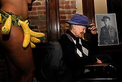 Stonewall Rebellion Survivor, Storme DeLarverie Celebrating their 90'th Birthday.<br /> Henrietta Hudson's, New York City, 2010<br /> Photo by Syd London &copy;2010