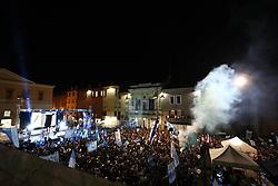FESTA IN PIAZZA TRENTO TRIESTE<br /> SPAL PROMOSSA IN SERIE A