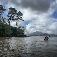 Rounding the Marin Islands
