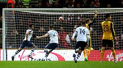 Callum Robinson of Preston North End celebrates after scoring his sides first goal  - Mandatory by-line: Matt McNulty/JMP - 07/01/2017 - FOOTBALL - Deepdale - Preston, England - Preston North End v Arsenal - Emirates FA Cup third round
