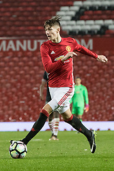 © Licensed to London News Pictures . 12/12/2016 . Manchester , UK . CALLUM GRIBBIN on the ball . Manchester United vs Southampton FA Youth Cup Third Round match at Old Trafford . Photo credit : Joel Goodman/LNP