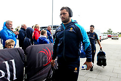 Simon Kerrod of Worcester Warriors arrives at The AJ Bell Stadium for his side's Gallagher Premiership fixture against Sale Sharks - Mandatory by-line: Robbie Stephenson/JMP - 09/09/2018 - RUGBY - AJ Bell Stadium - Manchester, England - Sale Sharks v Worcester Warriors - Gallagher Premiership