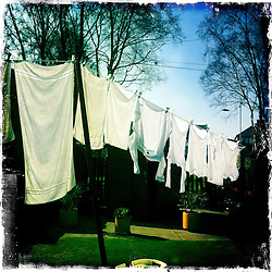 Washing..Hipstamatic images taken on an Apple iPhone..©Michael Schofield.