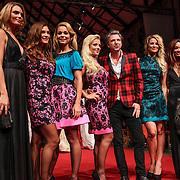 NLD/Amsterdam/20120910 - Modeshow Raak 2012 / 2013 Amsterdam, Kim Feenstra, Quinty Trustfull - van den Broek, Froukje de Both, Gigi Ravelli, Jos Raak, Lieke van Lexmond en Rochelle Perts