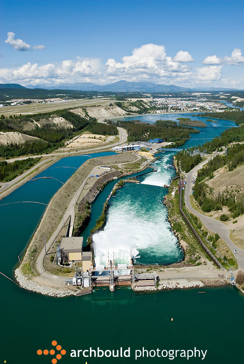 Whitehorse power dam, Yukon, Canada.<br /> <br /> NOT IN YOUR BUDGET? Contact Cathie for a price specific to your project.