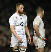 James Chisholm (Harlequins) during the 2015 Under 20s 6 Nations match between England and France at the American Express Community Stadium, Brighton and Hove, England on 20 March 2015.