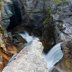 Screw Auger Falls in Maine's Grafton Notch State Park.