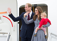 Prince George & Parents Kate and William Depart Australia2-2