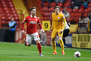 Charlton Athletic forward Conor McAleny during the Sky Bet Championship match between Charlton Athletic and Preston North End at The Valley, London, England on 20 October 2015. Photo by David Charbit.
