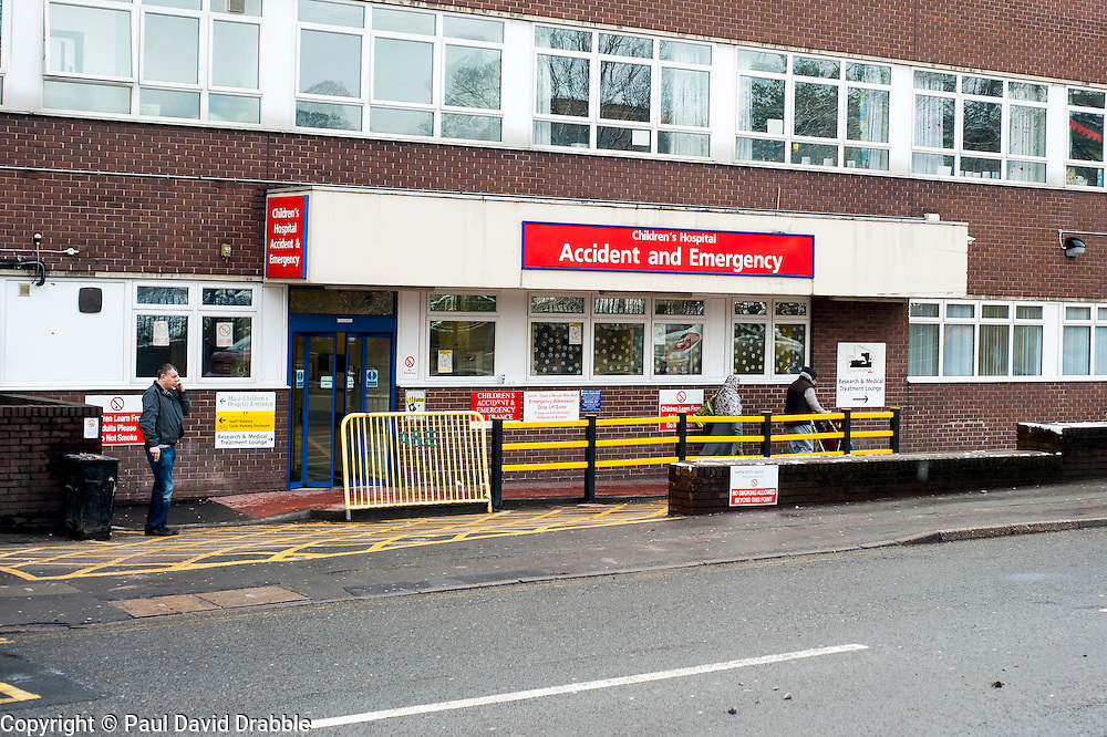 Sheffield Childrens Hospital where a Three Year old girl was taken from Beck Rd Shire Green Sheffield on Friday (8th feb). The girl later died around 12:20am Saturday morning (9 Feb).A 30-year-old man charged with murder of three-year-old girl from Beck Road Shiregreen, Sheffield..11 February 2013.Image © Paul David Drabble