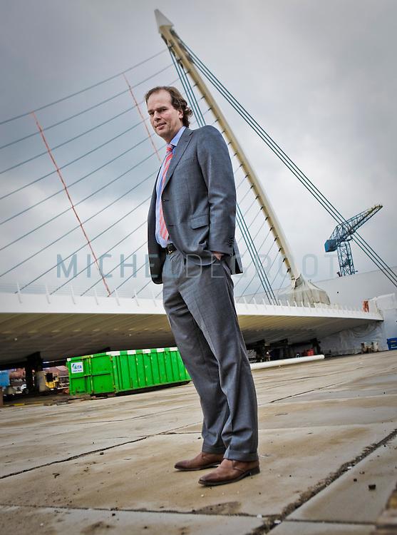 Steven Lubbers, directeur van staalfabriek Hollandia in Krimpen a/d IJssel, The Netherlands  op 09 April, 2009.  (Photo by Michel de Groot)