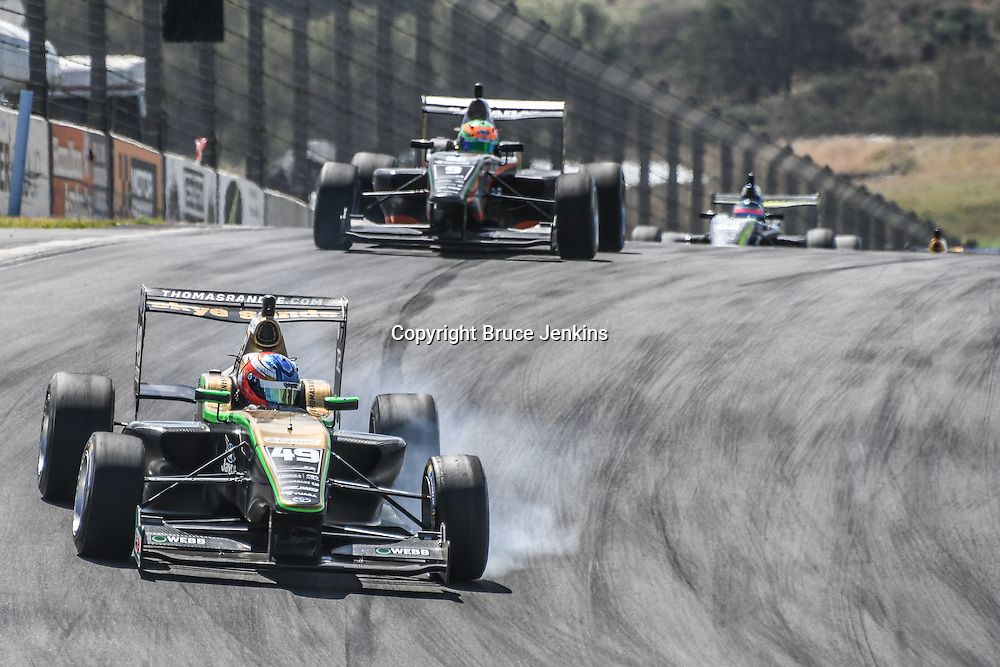 Thomas Randle wins Race 3, Round 3 of the 2017 Castrol Toyota Racing Series at Teretonga Park Raceway, Invercargill, New Zealand