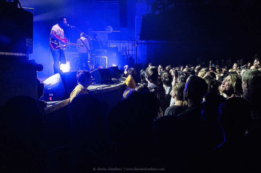 """Bloc Party performs on January 22, 2013 in support of """"Four"""" at the Ogden Theater in Denver, Colorado"""