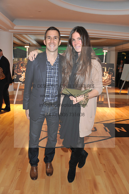 HARVEY SPEVAK Chief Executive Officer Of Equinox Holdings Inc And ELIZABETH SALTZMAN At The Launch