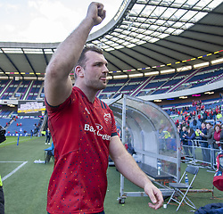 March 30, 2019 - Edinburgh, Scotland, United Kingdom - Tadgh Beirne of Munster celebrates during the Heineken Champions Cup Quarter Final match between Edinburgh Rugby and Munster Rugby at Murrayfield Stadium in Edinburgh, Scotland, United Kingdom on March 30, 2019  (Credit Image: © Andrew Surma/NurPhoto via ZUMA Press)