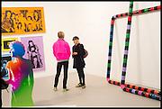 RAPHAEL HOFSTETTER; URSULA HODEL; , Opening of Frieze art Fair. London. 14 October 2014