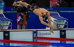09-08-2016 BRA: Olympic Games day 4, Rio de Janeiro<br /> Anze Tavcar SLO 100 m freestyle<br /> Photo by Ronald Hoogendoorn / Sportida
