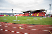 General stadium view during the Vanarama National League match between Gateshead and Forest Green Rovers at Gateshead International Stadium, Gateshead, United Kingdom on 18 February 2017. Photo by Shane Healey.