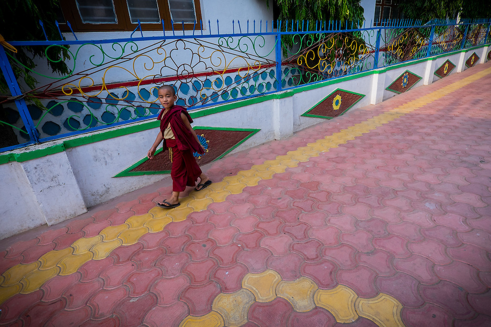 , Drepung, Karnataka, India, on  April 11, 2015.<br /> Photo by Oren Nahshon