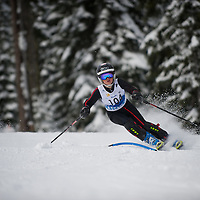 Boys Slalom 1st run - Cascade Cup 2013