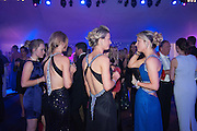 REBECCA PARROTT; LISA FRACKINGHAM; RACHEL PARROTT, Quorn Hunt Ball, Stanford Hall. Standford on Soar. 25 January 2014