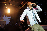 Common performing in St. Louis on July 9, 2010 at the Celebrate St. Louis concert series.