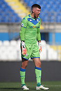 Brescia Calcio's Finnish goalkeeper Jesse Joronen during the Serie A match at Stadio Mario Rigamonti, Brecsia. Picture date: 27th June 2020. Picture credit should read: Jonathan Moscrop/Sportimage