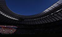 FUSSBALL  WM 2018  Achtelfinale  01.07.2018 Spanien - Russland Stadionansicht des  Luschniki Stadion in Moskau
