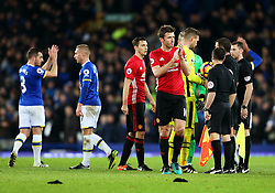Michael Carrick of Manchester United applauds the fans at full time - Mandatory by-line: Matt McNulty/JMP - 04/12/2016 - FOOTBALL - Goodison Park - Liverpool, England - Everton v Manchester United - Premier League