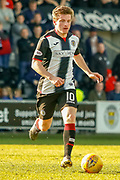 Anders Dreyer of St Mirren during the Ladbrokes Scottish Premiership match between St Mirren and Dundee at the Paisley 2021 Stadium, St Mirren, Scotland on 30 March 2019.
