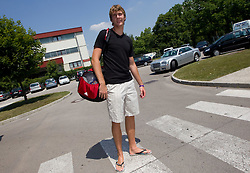 Zoran Dragic of Slovenia Basketball national team at departure to Rogla before World Championship in Turkey, on July 10, 2010 at KZS, Ljubljana, Slovenia. (Photo by Vid Ponikvar / Sportida)