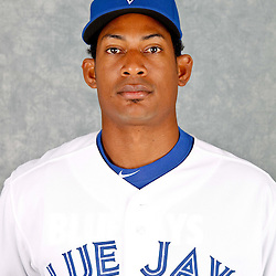 March 2, 2012; Dunedin, FL, USA; Toronto Blue Jays relief pitcher Jerry Gil (76) poses for a portrait during photo day at Florida Auto Exchange Stadium.  Mandatory Credit: Derick E. Hingle-US PRESSWIRE
