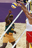 Olympics - Men's Beach Volleyball Poland v SA