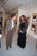 ANGELA WYNN; REBECCA EAMES , 20/21 British Art Fair. Celebrating its 25 Anniversary. The Royal College of Art . Kensington Gore. London. 12 September 2012.