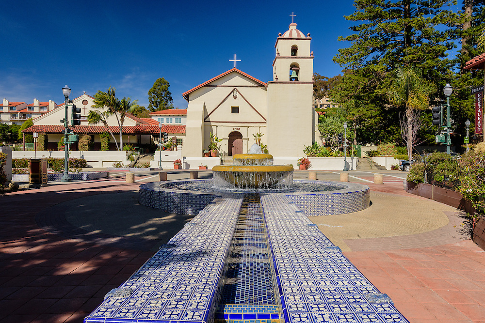 Fountain and Mission San Buenaventura is a Spanish mission founded by the Franciscan order in present-day Ventura, California. Founded on March 31, 1782, Ventura, California