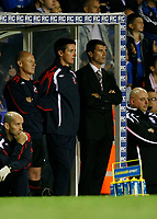 Photo: Steve Bond.<br />Birmingham City v Sunderland. The FA Barclays Premiership. 15/08/2007. Roy Keane watches the tense last few minutes impassively