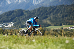Elisa Longo Borghini (ITA) at UCI Road World Championships 2018 - Elite Women's ITT, a 27.7 km individual time trial in Innsbruck, Austria on September 25, 2018. Photo by Chris Auld/velofocus.com