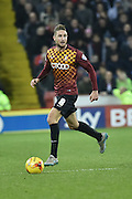 Bradford City midfielder Gary Liddle during the Sky Bet League 1 match between Sheffield Utd and Bradford City at Bramall Lane, Sheffield, England on 28 December 2015. Photo by Ian Lyall.