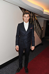 OLIVER CHESHIRE at the Quintessentially Foundation poker evening at The Savoy Hotel, London on 30th October 2012.