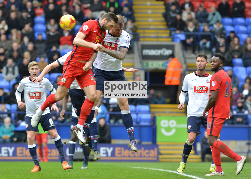 Panic in the Bolton goalmouth as Blackburn attack.....(c) BILLY WHITE | SportPix.org.uk